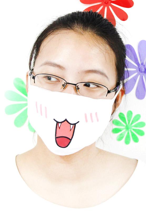 Maseczka emoji kawaii