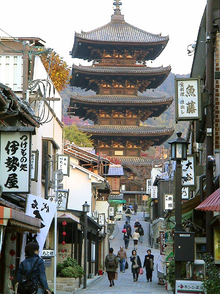 Kyoto old town street