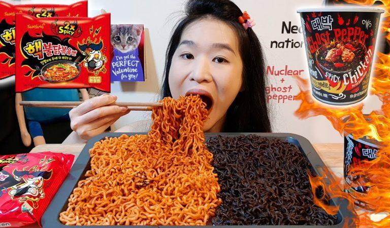 Piekielnie Ostry Ramen – Ghost Pepper Spicy Noodle Challenge