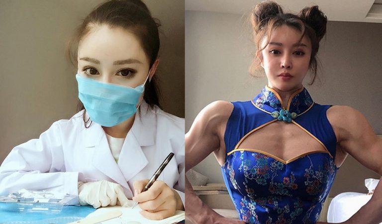Chińska cosplayerka na froncie walki z COVID-19