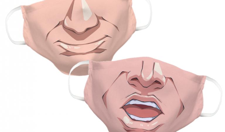 Śmieszne maseczki na twarz – pożyteczne i popularne?