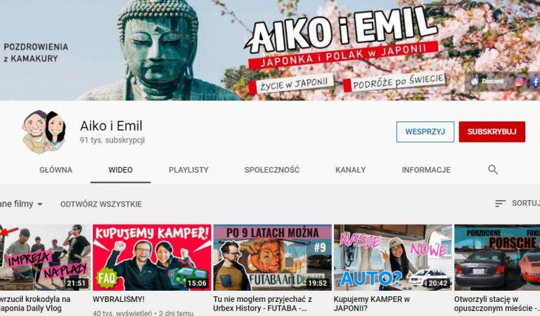 YouTube dla fanów Japonii – polecane top 5 kanałów